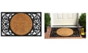 Home & More Armada Circle Coir/Rubber Doormat Collection