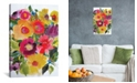 "iCanvas ""Purple Zinnias"" By Kim Parker Gallery-Wrapped Canvas Print - 26"" x 18"" x 0.75"""