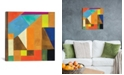 """iCanvas """"Brussels No. 1"""" By Kim Parker Gallery-Wrapped Canvas Print - 26"""" x 26"""" x 0.75"""""""