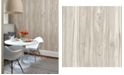 """Brewster Home Fashions Paneling Wide Plank Wallpaper - 396"""" x 20.5"""" x 0.025"""""""