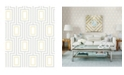 "Brewster Home Fashions Metromod Wallpaper - 396"" x 20.5"" x 0.025"""