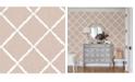 """Brewster Home Fashions Ikatrellis Wallpaper - 396"""" x 20.5"""" x 0.025"""""""