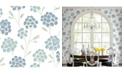 "Brewster Home Fashions Scandi Flora Wallpaper - 396"" x 20.5"" x 0.025"""