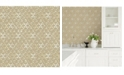 """Brewster Home Fashions Blissful Harlequin Wallpaper - 396"""" x 20.5"""" x 0.025"""""""