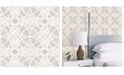 "Brewster Home Fashions Zazen Geometric Wallpaper - 396"" x 20.5"" x 0.025"""