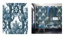 "Brewster Home Fashions Dreamer Damask Wallpaper - 396"" x 20.5"" x 0.025"""