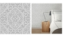"Brewster Home Fashions Heavenly Damask Wallpaper - 396"" x 20.5"" x 0.025"""