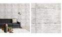 "Brewster Home Fashions Smooth Concrete Wallpaper - 396"" x 20.5"" x 0.025"""