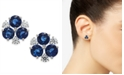 Eliot Danori Danori Silver-Tone Cubic Zirconia Cluster Stud Earrings, Created for Macy's