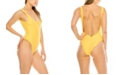 Kendall + Kylie Low Back One-Piece Swimsuit