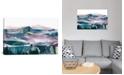 "iCanvas Pink Range by Dan Hobday Wrapped Canvas Print - 40"" x 60"""