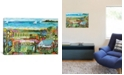 """iCanvas Nautical Whimsy Iii by Karen Fields Wrapped Canvas Print - 26"""" x 40"""""""