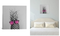 """iCanvas Mrs. Pineapple by Chelsea Victoria Wrapped Canvas Print - 26"""" x 26"""""""