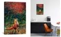"iCanvas Fox Fire by Iris Scott Wrapped Canvas Print - 26"" x 18"""