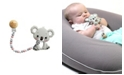 Tiny Teethers Designs 3 Stories Trading Tiny Teethers Infant Silicone Pacifier Clip With Large Removable Teether, Koala