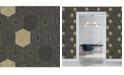 """A-Street Prints 20.5"""" x 396"""" Momentum Geometric Wallpaper"""