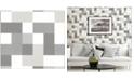 "Advantage 20.5"" x 369"" Laurence Geometric Wallpaper"
