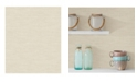"Advantage 21"" x 396"" Colicchio Wheat Linen Texture Wallpaper"