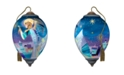 Ne'Qwa The NeQwa Art A Christmas Angel hand-painted blown glass Christmas Ornament