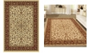 "KM Home CLOSEOUT! 1318/1514/IVORY Navelli Ivory/ Cream 7'9"" x 9'6"" Area Rug"