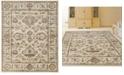 """KM Home CLOSEOUT! 3562/0020/BONE Cantu Ivory/ Cream 3'3"""" x 4'11"""" Area Rug"""