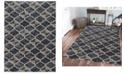 "KM Home CLOSEOUT! 3793/1021/Gray Imperia Gray 5'3"" x 7'3"" Area Rug"