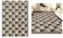 "KM Home CLOSEOUT! 3794/1000/GrayBONE Imperia Gray 3'3"" x 4'11"" Area Rug"