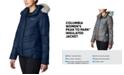 Columbia Women's Peak To Park Insulated Faux-Fur-Trim Jacket