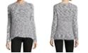 John Paul Richard Crewneck Eyelash Sweater