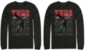 Marvel Men's Avengers Endgame Thor Action Pose, Long Sleeve T-shirt