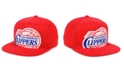 Mitchell & Ness Los Angeles Clippers Hardwood Classic Cropped Snapback Cap