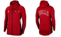 Nike Men's Chicago Bulls Thermaflex Showtime Full-Zip Hoodie