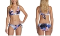 Raisins Juniors' Halter Bikini Top & Side-Tie Bottoms