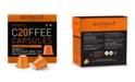 Bestpresso Coffee Ristretto Flavor 20 Capsules per Pack for Nespresso Original Machine