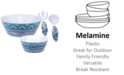 Certified International Topaz 7 pc Melamine Salad Set