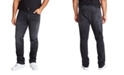 Mvp Collections By Mo Vaughn Productions MVP Collections Men's Big & Tall Black Vintage Wash Straight Fit Jeans