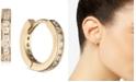 Givenchy Gold-Tone Pavé Mini Huggie Hoop Earrings