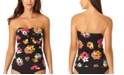 Anne Cole Island Bloom Twist Bandeau Tankini Top