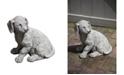 Campania International Lab Pup Garden Statue