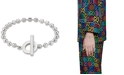 Gucci Beaded Toggle Bracelet in Sterling Silver