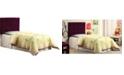 Furniture of America CLOSEOUT Hellan Twin Upholstered Headboard