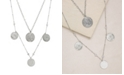 ETTIKA Elite Coin And Crystal Layered Women's Necklace Set