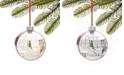 Holiday Lane Macy's LED Macy's Store and Santa Ornament, Created for Macy's