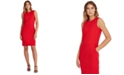 Lauren Ralph Lauren Slim-Fit Ponte Dress