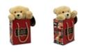 FAO Schwarz Toy Plush Bear in a Bag 7inch