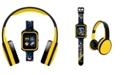 iTouch Kid's Dc Comics Playzoom Batman Character Print Tpu Strap Smart Watch with Headphones Set 41mm