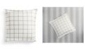 Martha Stewart Collection Modern Stripe Euro Sham, Created for Macys