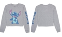 Disney Juniors' Stitch Long-Sleeved Graphic T-Shirt