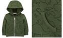 Carter's Baby Boys Dinosaur Zip-Front Fleece Jacket