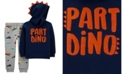 Carter's Toddler Boys Part Dino Pullover and Jogger Set, 2 Piece